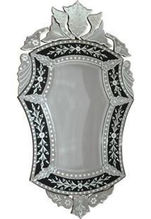 Espelho Veneziano Clássico 123X70Cm