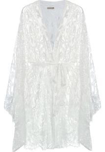 Robe Curto Passione Off White - U