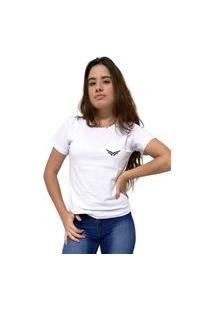 Camiseta Feminina Cellos Wings Premium Branco