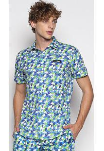 Camisa Coca Cola Estampada Urban Marculina - Masculino-Colorido