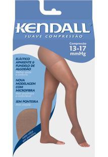 Meia Calça 13-17 Suave Kendall Mel Ponteira Aberta G