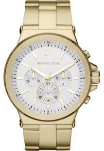 ... Relógio Feminino Michael Kors Analógico, Cronógrafo Mk8278 4Xn Dourado ce0e944aa8