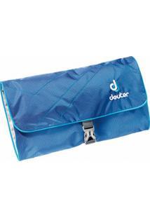 Necessaire Grande Wash Bag Ii Azul Para Viagem Com Espelho Removível - Deuter