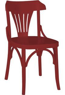 Cadeira Opzione Cor Bordô