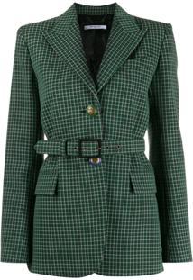 Givenchy Blazer Xadrez - Verde
