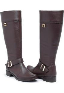 Bota Babu Shoes Montaria Country Zíper Feminina - Feminino