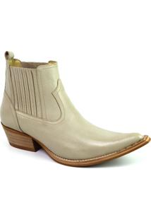 Bota Top Franca Shoes Country - Masculino-Cinza