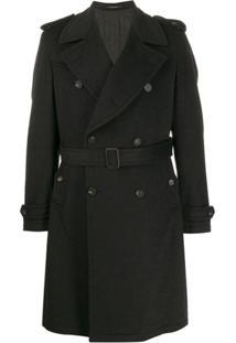 Tagliatore Tailored Trench Coat - Cinza