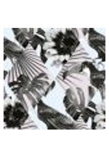 Papel De Parede Autocolante Rolo 0,58 X 3M - Tucano Flores 285287630