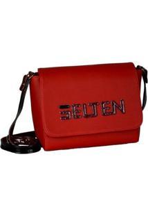 Bolsa Selten Box Transversal Ajustável Zíper Feminina - Feminino