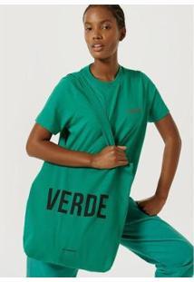 Bolsa Hering Sarja De Algodão - Unissex-Verde