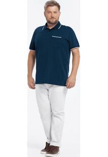 Camisa Polo Tradicional Piquê Stretch