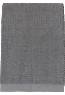 Toalha De Rosto Solare- Cinza Escuro- 45X80Cm- Tteka
