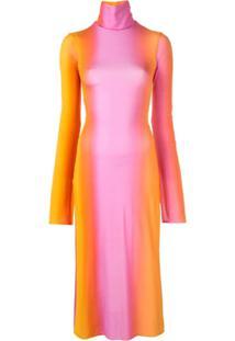 Ellery Vestido Tie Dye - Laranja