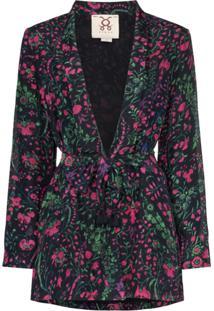 Figue Kimono Akila Com Estampa Floral - Hfmdn