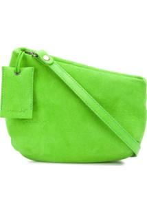 Marsèll Bolsa Tiracolo Assimétrica - Verde