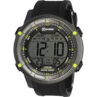 d86f74b9be5 Relógio Digital X Games Xmppd421 - Masculino - Preto Verde Centauro