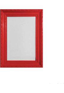 Porta Retrato 10X15Cm Queem Vermelho Brilhante Infinity