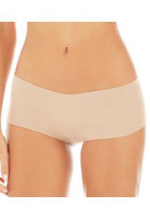 Calcinha Boxer Zee Rucci Nude Cotton (0200-019) Corte À Laser