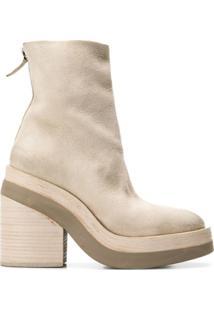 Marsèll Block Heel Ankle Boots - Neutro