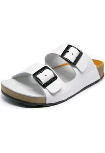 Sandália Sidewalk Anatômica Onda Off-White