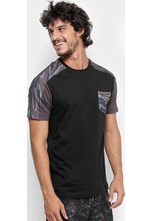 Camiseta Mcd Especial Core Masculina - Masculino-Preto