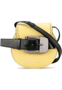 Proenza Schouler Bolsa Transversal Mini Com Fivela - Amarelo