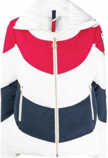 Rossignol Jaqueta Color Block Com Capuz - Branco