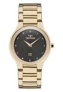Relógio Technos Unissex Slim 1L22Wi/4P 1L22Wi/4P