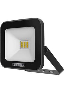 Refletor Led Taschibra 10W 3000K Tr 10 Preto