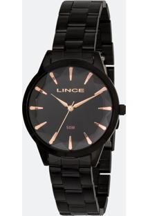 Relógio Feminino Lince Lrn4563L-P1Px Analógico 5Atm