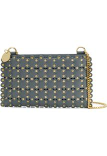 Red Valentino Red(V) Flower Puzzle Cross Body Bag - Cinza