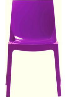 Cadeira Ice Polipropileno Roxo - 15116