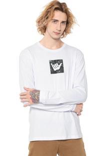 Camiseta Hang Loose Logarmy Branca