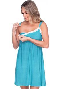 Camisola Click Chique Alça Conforto Amamentação Multicolorido