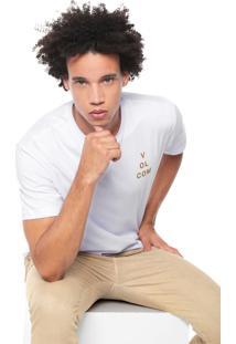 Camiseta Volcom Key King Branca