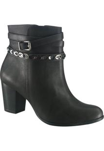 Bota Feminina Ankle Boot Via Marte