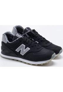 Tênis New Balance 574 Preto Feminino 34