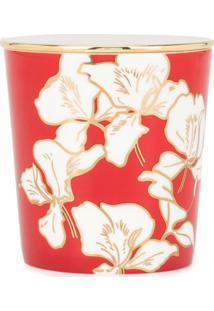 Shanghai Tang Vela Perfumada Ginger Flower Bone China - Vermelho