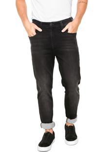 Calça Jeans Hering Skinny Basic Preta