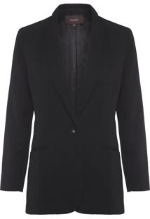 Blazer Feminino Boy Winter - Preto