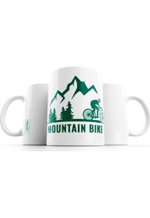 Caneca Punnto Mountain Bike - Branco - Dafiti