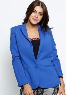 Blazer Com Fendas - Azul Royal- Le Fixle Fix