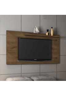 Painel Para Tv Até 50 Polegadas 1 Prateleira Chanel 2075332 Rústico - Bechara Móveis