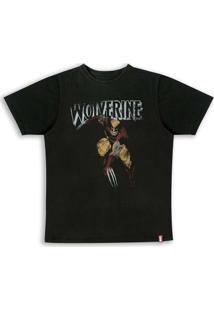 Camiseta Marvel Wolverine - Unissex