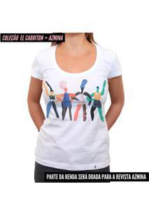Juntas - Camiseta Clássica Feminina