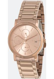 Relógio Feminino Lince Lmr4568L-R1Rx Analógico 5Atm