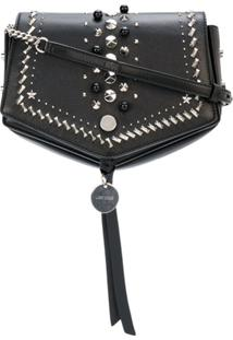 Jimmy Choo Bolsa Tiracolo 'Arrow' - Preto