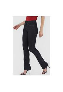 Calça Jeans Calvin Klein Reta Lisa Azul