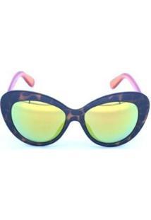 Óculos De Sol Triton Eyewear - Feminino-Azul